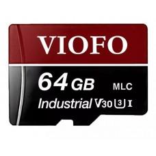 Карта памяти VIOFO Professional High Endurance MicroSDXC MLC UHS-3 на 64GB