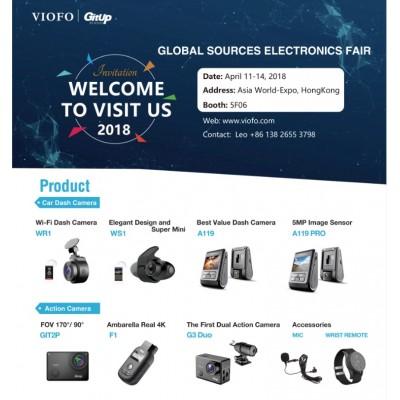 Viofo приглашает на выставку Global Sources Consumer Electronics