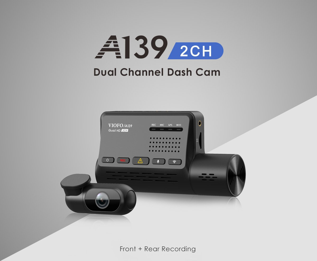 Видеорегистратор VIOFO A139 2CH