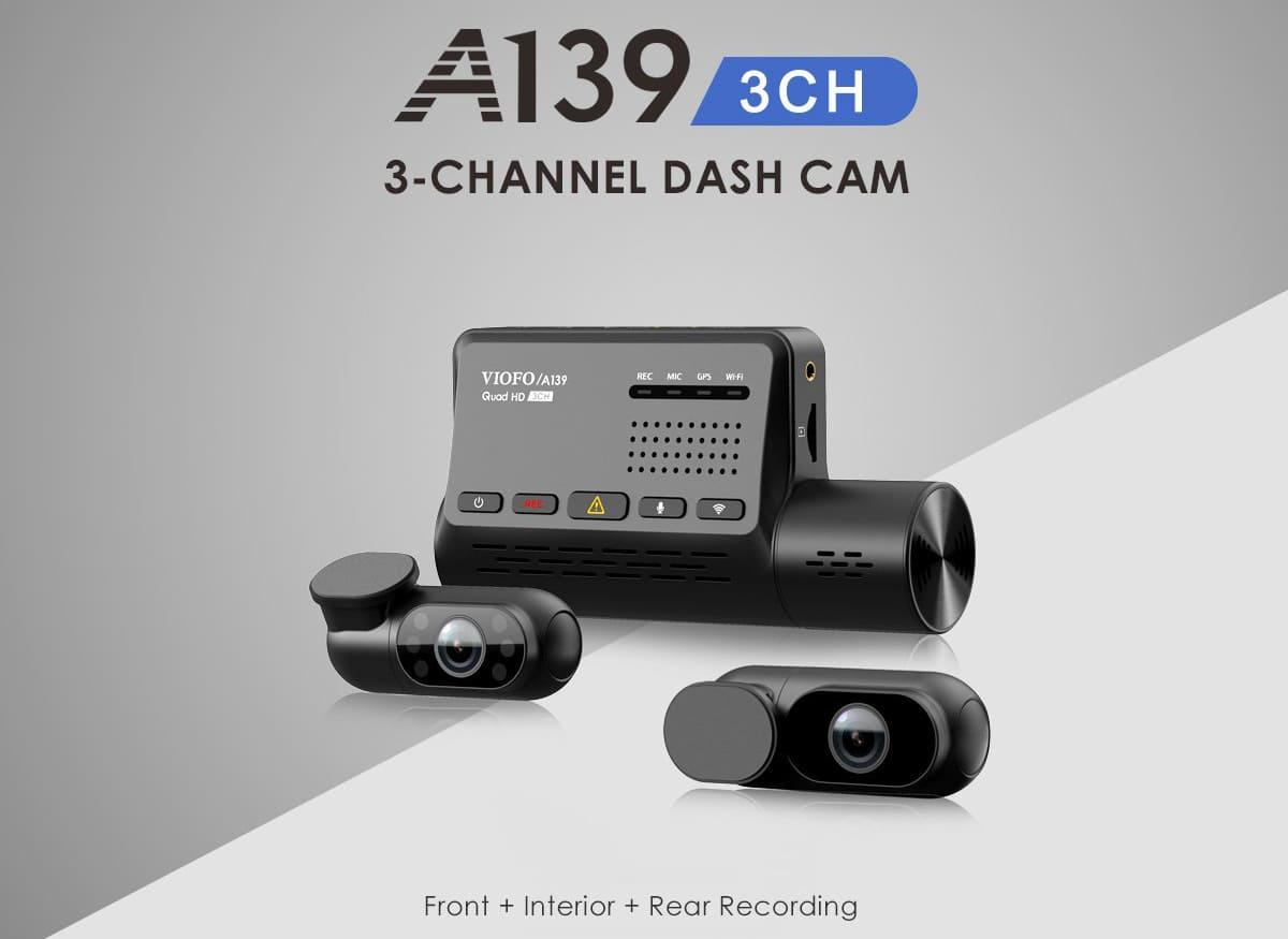 Видеорегистратор VIOFO A139 3CH