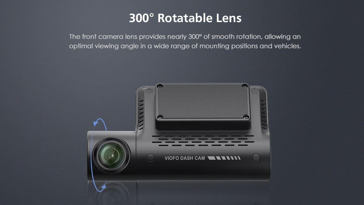 Вращение камеры 300 градусов
