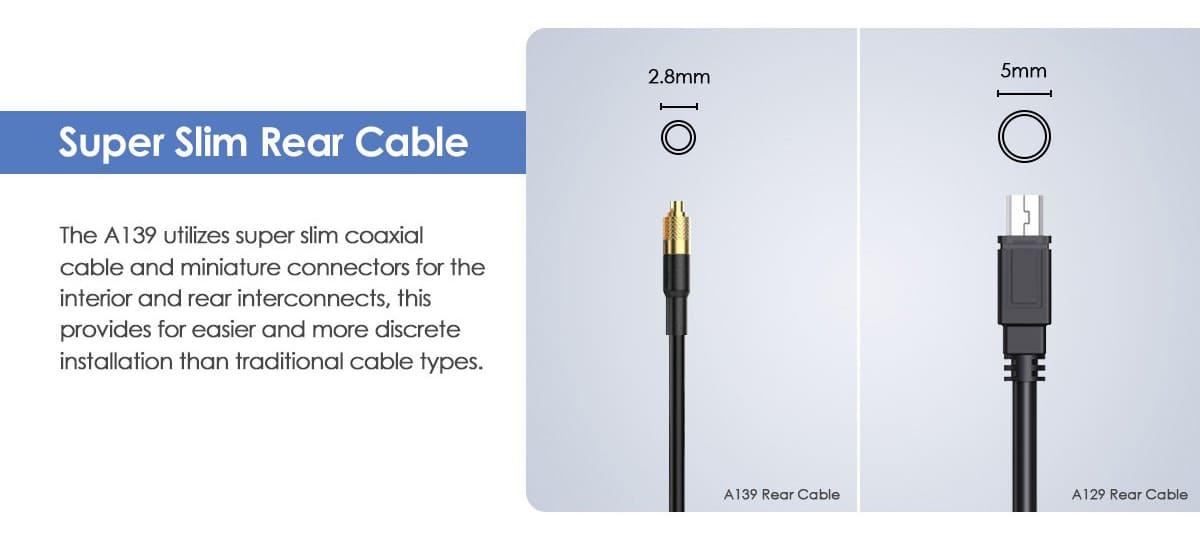 Супер тонкий кабель для соединения с дополнительными камерами
