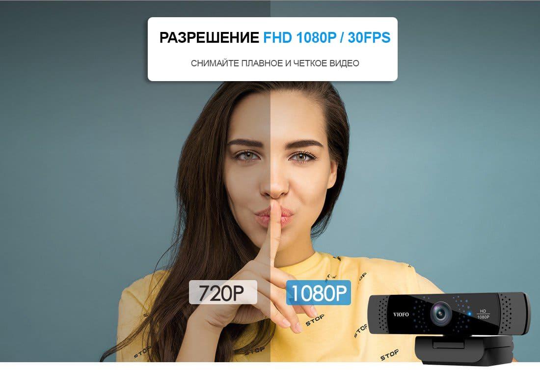 Веб-камера VIOFO P800