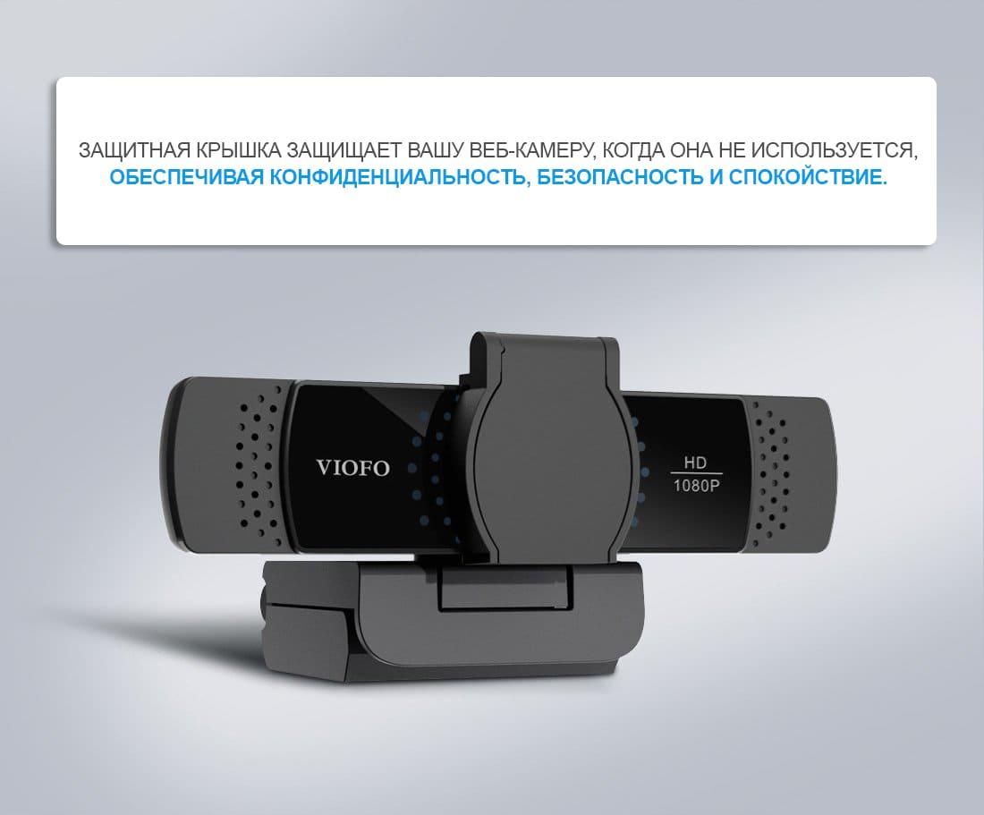 VIOFO P800 конфиденциальность