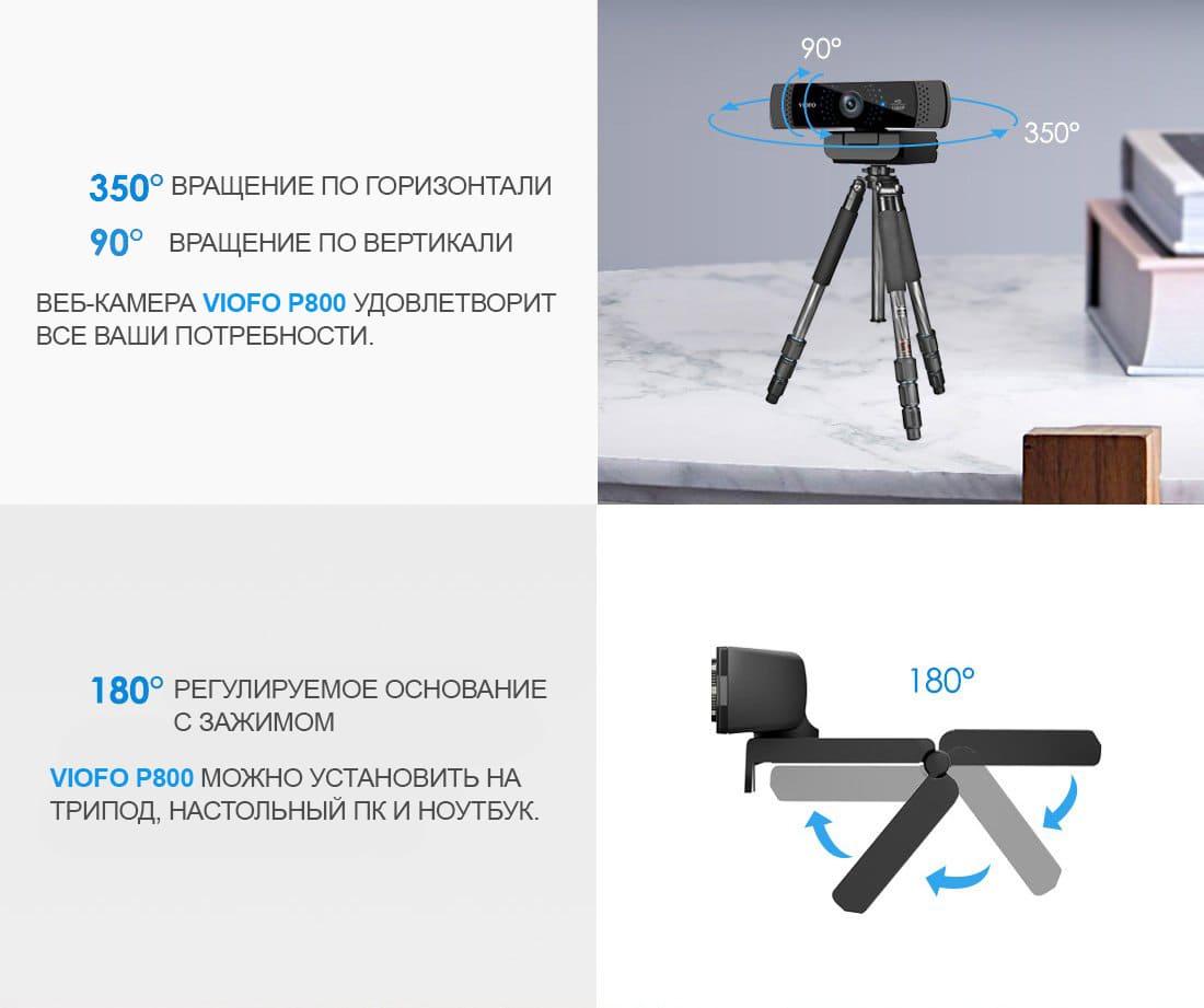 VIOFO P800 360